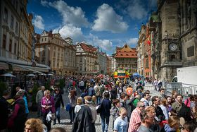 Old Town Square, Prague, photo: Dmitry Karyshev, Flickr, CC BY 2.0