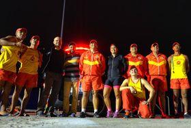 Con los bomberos, foto: Archivo personal de Marek Jelínek