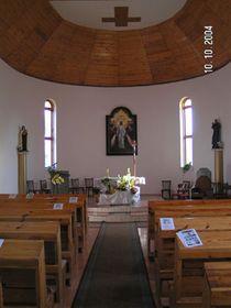 Interiér kostela vČechohradu