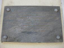 Johann Mathäus Klimesch Gedenktafel (Foto: Ewald Judt, CC BY 4.0)