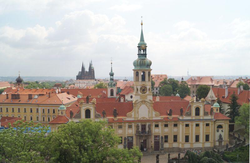 Prague's Loreto Church, photo: Miloš Turek
