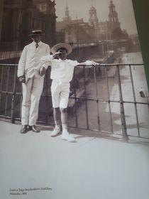 Luis y Zsiga Berchtold (1908), foto: archivo del Palacio de Buchlovice