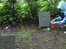 Кладбище детей в Дяблице (Фото: ЧТ24)
