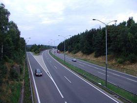 D1 highway, photo: Miloš Turek