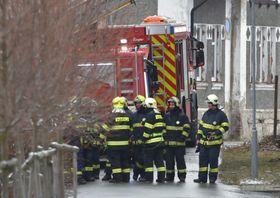Работа пожарных в г. Вейпрты, фото: ЧТК/Славомир Кубеш