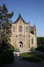 L'église gothique Sainte-Barbe, photo: Štěpánka Budková