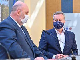 Richard Brabec (à droite), photo: Site officiel du Gouvernement tchèque