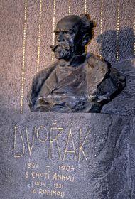 Dvorak's tomb in Vysehrad