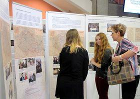 Výstava završila projekt Školákem ve válečných letech, foto: Martina Schneibergová