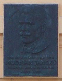 Pamětní deska na Janského vile v Černošicích, foto: Archiv Radia Praha