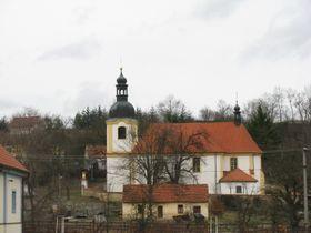 Bartholomäuskirche in Všeradice (Foto: Martina Schneibergová)