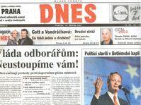 El diario Mladá Fronta Dnes, 19-6-2003