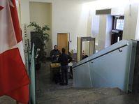 La sección consular de la Embajada canadiense en Praga, foto: ČTK