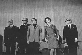 Karel Hála, Pavel Vošický, Pavel Sedláček, Pavlína Filipovská, Miky Volek, photo: archive of Pavel Vošický