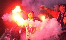 Los fans de Baník Ostrava, foto: CTK