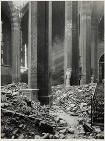 Josef Sudek, 'Topographie de décombres', photo: GHMP