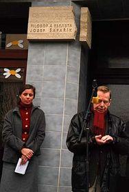 Jitka Taussiková aVáclav Havel