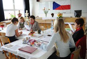 Abiturprüfung (Foto: Filip Jandourek, Archiv des Tschechischen Rundfunks)