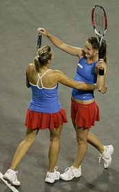 Květa Peschkeová and Iveta Benešová, photo: CTK