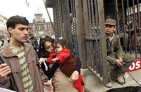 Liuver Saborit, Mayda Arguelles y sus hijos (Foto: CTK)
