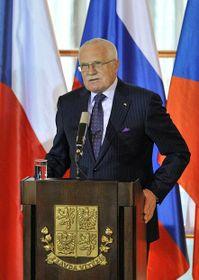 Президент ЧР Вацлав Клаус (Фото: ЧТК)