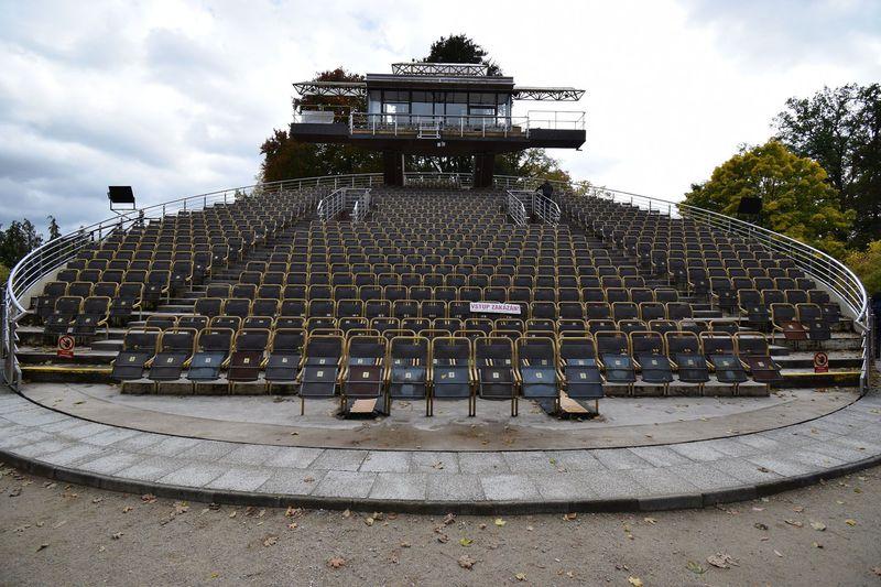 Otáčivé hlediště vČeském Krumlově, foto: Ondřej Tomšů