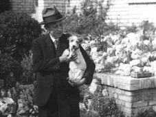 Karel Čapek mit Dášeňka (Foto: Archiv des Tschechischen Rundfunks)