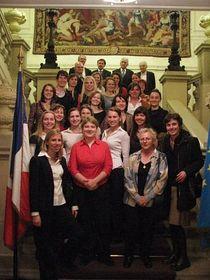 Les anciens élèves de la section du lycée Alphonse Daudet de Nîmes, photo: www.france.cz