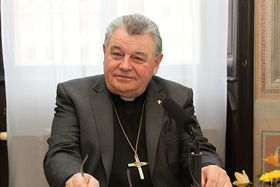 Dominik Duka, foto: Adam Kebrt, ČRo
