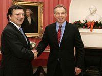 Жозе Баррозы и Тони Блэр (Фото: ЧТК)
