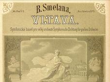 Vltava, source: eSbírky, České muzeum hudby/Musée national
