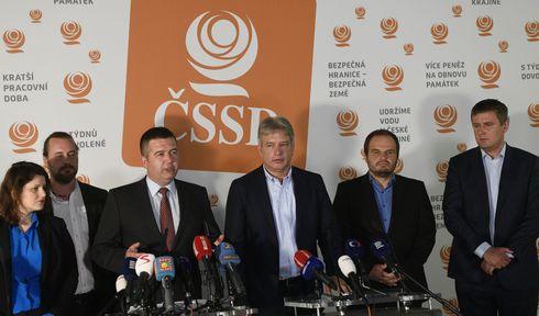 Vorstand der Sozialdemokraten (Foto: ČTK / Michal Kamaryt)