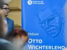 Prémie Otto Wichterleho, foto: ČTK / Michal Kamaryt