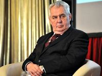 Miloš Zeman, photo: Filip Jandourek