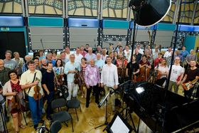 Карел Готт с симфоническим оркестром «Чешского Радио», фото: Khalil Balbaaki