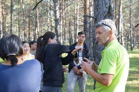 Vědci zbrněnské Mendelovy univerzity vzdělávají mongolské studenty lesnictví, foto: archiv Mendelovy univerzity vBrně