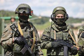 Солдаты 4-й танковой дивизии Российской Федерации, фото: CC BY-SA 4.0 открытый источник