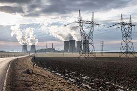 Jaderná elektrárna Dukovany, foto: Jan Sucharda, archiv ČRo