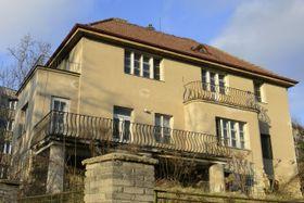 La villa comprada por Vratislav Mynář, Praga - Strašnice, foto: ČTK
