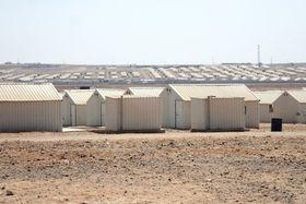Flüchtlingslager (Foto: Štěpán Macháček, Archiv des Tschechischen Rundfunks)