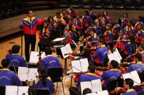 Orquesta Juvenil de Caracas. Foto: archivo del festival