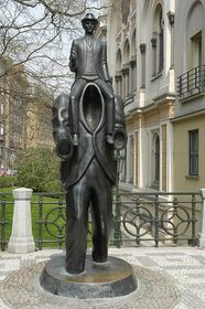 Памятник Францу Кафке, Ярослав Рона, фото:  © City of Prague