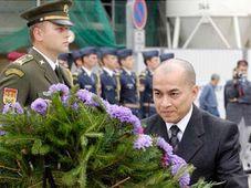 Norodom Sihamoni, photo: CTK