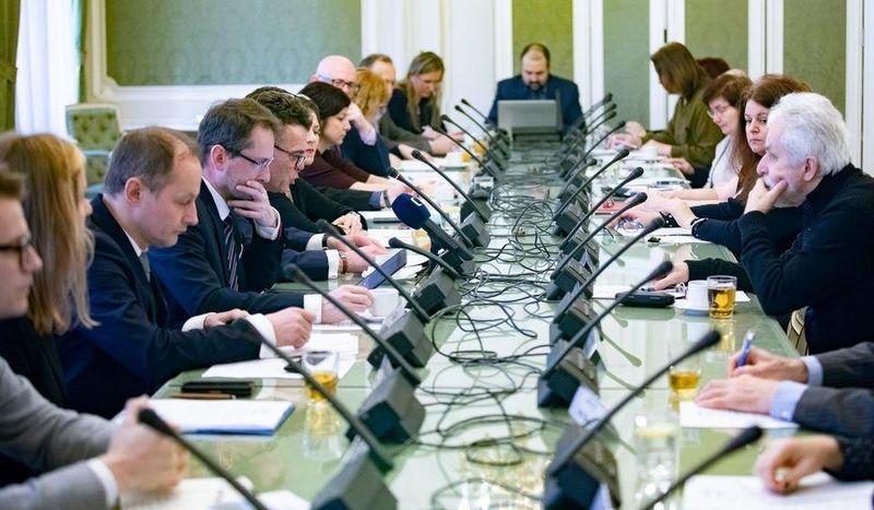 Debata odiaspoře pořádaná předsedou Stálé komise Senátu pro krajany vzahraničí, foto: archiv Senátu Parlamentu ČR