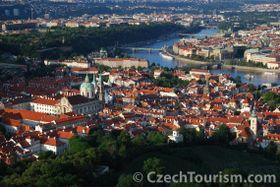 Pohled na pražské mosty, foto: CzechTourism