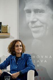 Leïla Slimani, photo: Eva Kořínková / IFP