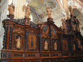 Bancos de coro (Foto: autora)
