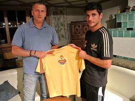 José Antonio Romera (drch.), foto: FK Dukla Praha