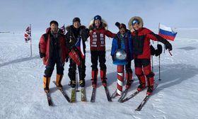 Expedice na jižním pólu, foto: archiv Knowlimits
