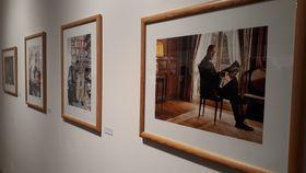Pavel Fischer, photo de l'exposition: Corentin Nicolas